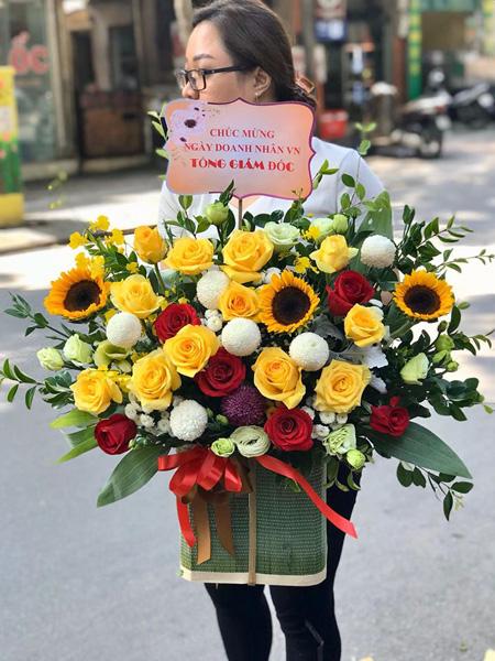ý nghĩa khi tặng hoa hướng dương