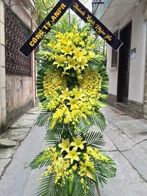 Địa chỉ đặt hoa chia buồn HN