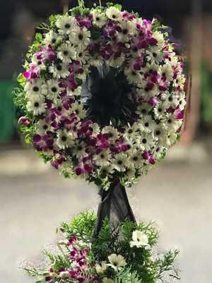 Gửi hoa đám ma