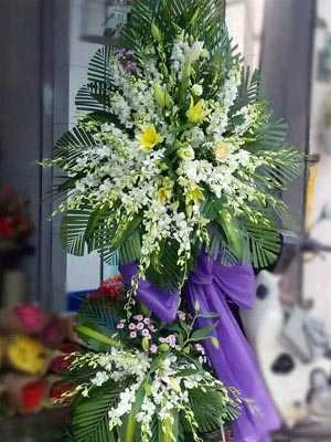 Gửi hoa tang lễ