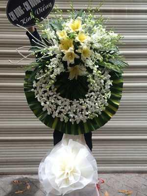 Hoa chia buồn hoa lan