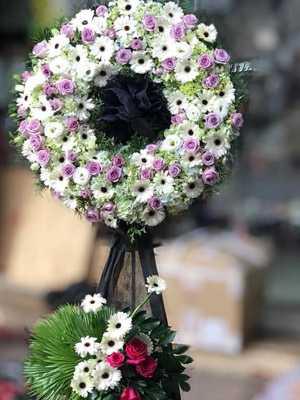 Hoa chia buồn nhà tang lễ 125 phùng hưng HN