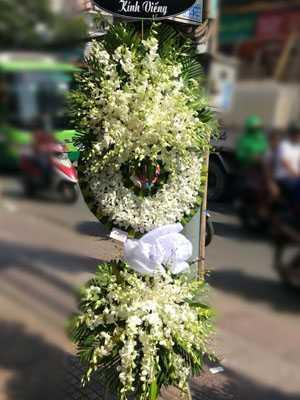 Hoa chia buồn nhà tang lễ chùa vĩnh nghiêm