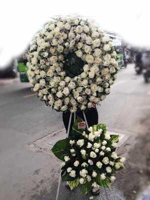 Hoa đám tang hoa hồng