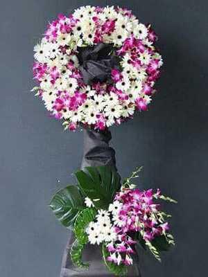 Hoa tang lễ đơn giản đẹp