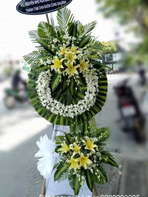 Hoa tang lễ màu trắng