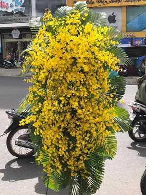 Hoa tang lễ màu vàng đẹp
