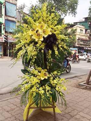 Lãng hoa đám tang, hoa tang lễ