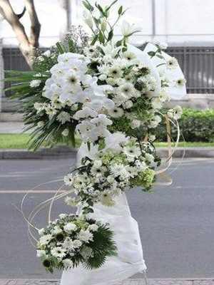 Mẫu hoa chia buồn đẹp sang trọng