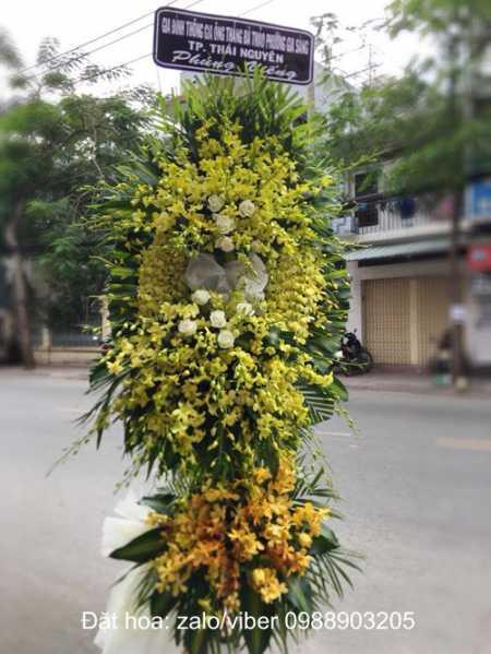 Đặt Hoa chia buồn nhà tang lễ 354